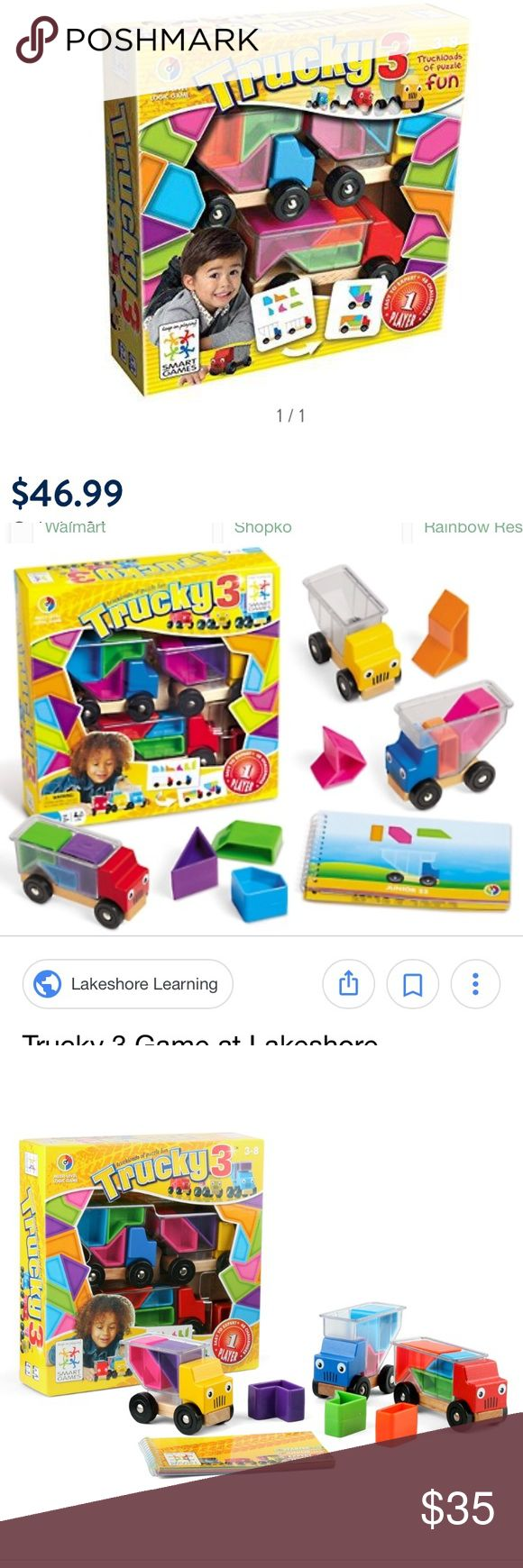 Trucky 3 puzzle and stacking game Trucky 3 puzzle and stacking game. In box GAP Other