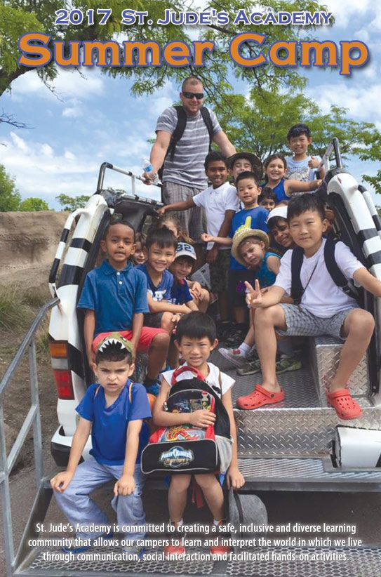 St. Jude's Academy organized a weekly basis summer camp for kids. These  summer camps are held for the growth of child and offer many different opportunities to learn in fun ways.