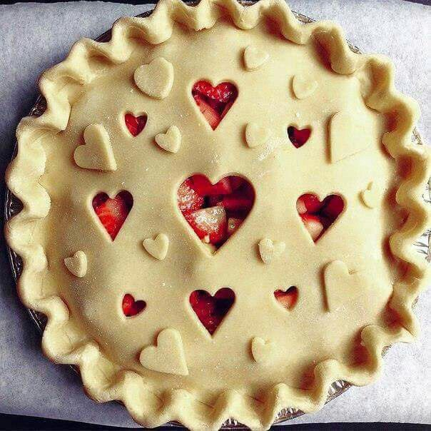 Pie crust for Valentines