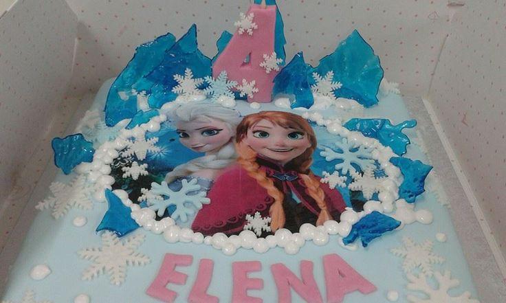 torta con Frozen festa di simocakedesigner.it ideata dalla pasticceria Lamimosa di Tollo
