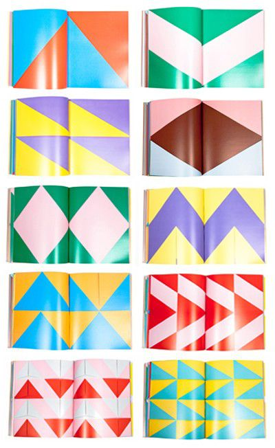 Book: Raw Color Sophisticated Geometry, Babel on demand, a monumental manifesto