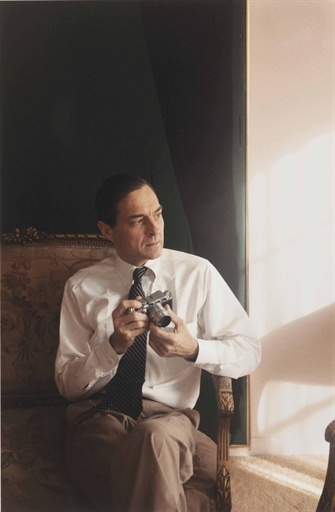 W. Tom Young, Bill [William Eggleston] with Camera, New Orleans, 1987