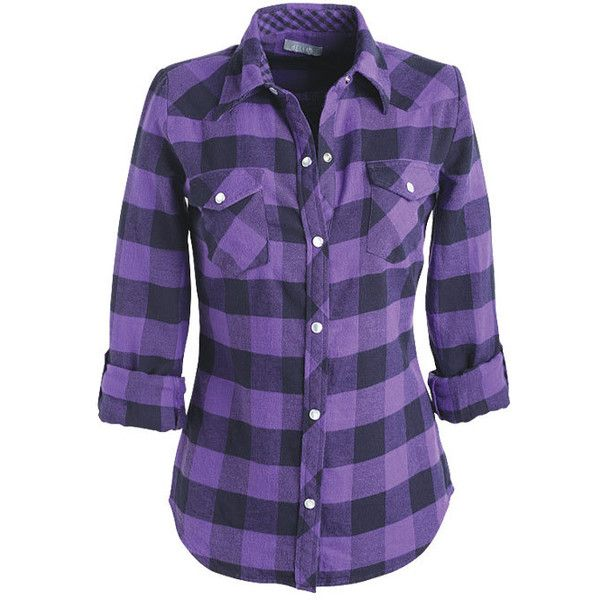 1000 Ideas About Purple Plaid Shirt On Pinterest Fall