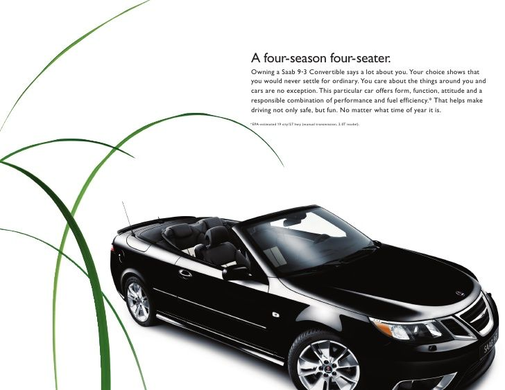 292 best automobiles saab images on pinterest automobile autos the gorgeous saab 9 3 convertible a four season four seater fandeluxe Gallery