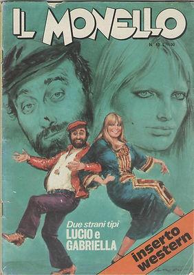Lucio Dalla e Gabriella Ferri - Due Strani Tipi [Il Monello 1973]