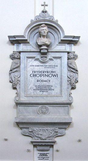 La historia de cómo se recuperó el corazón de Chopin.  During the German occupation of Poland, the heart was nearly lost.