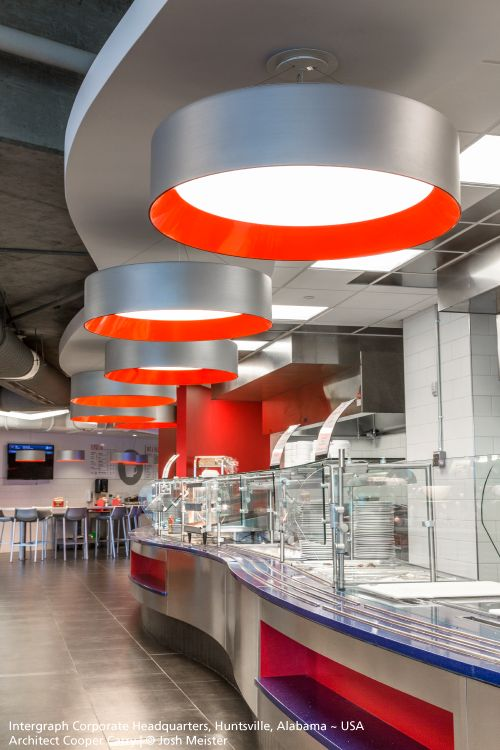 Very nice #Tagora suspensions with this custom grey and red finish. #design S./R. Cornelissen ► http://bit.ly/TAGORA_S570