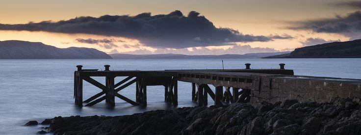 Portenccross Pier, Scotland.  – Lake Wallpaper by iancook95 #travel #holiday #booking #wanderlust #earth #destinations #traveldestinations Lake