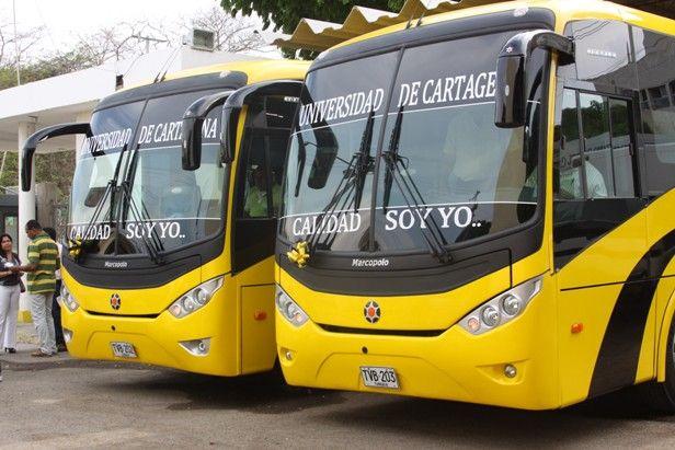 Buses de la Universidad de Cartagena