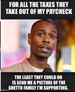 Funny! Lmao go like Dave Chappelle Meme I'm dying laughing!! http://funnylolmemes.com/lmao-go-like-dave-chappelle-meme-im-dying-laughing/  #funnylolmemes #funnymemes #memes -click image to find source FB page