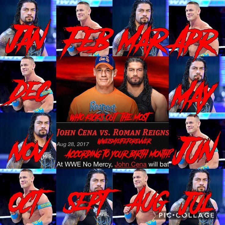 I got Cena 😂 #WWE #FollowForFollow #Follow4Follow #f4f #Raw #SDLive #ProWrestling #WWEMemes