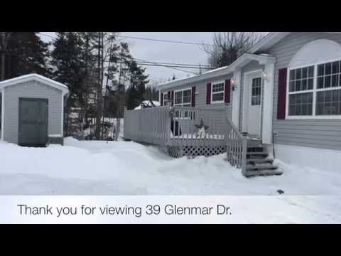39 Glenmar Dr. Heron Springs, Fredericton Listing Tour - YouTube