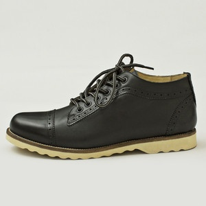 Svoldgaard Brogue Boots Black, £96, now featured on Fab.