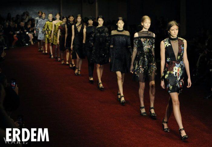 2014 F/W 런던 패션 위크를 흥분시킨 쇼 음악 베스트 7