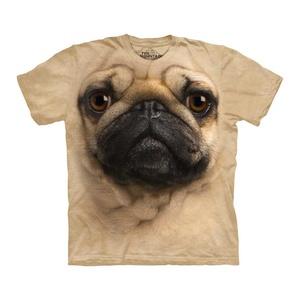 Pug Face  Tee Adultnow featured on Fab