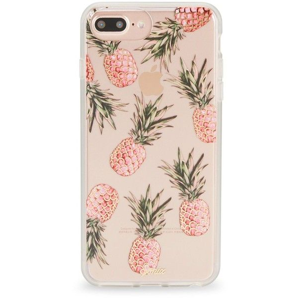 Sonix Pineapple Phone 6/7 Plus Case ($35) ❤ liked on Polyvore featuring men's fashion, men's accessories and men's tech accessories