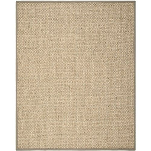 10 Feet Inches By 8 Feet Contemporary Hand-crafted Indoor Area Rug- Made From Natural Sea Grass Safavieh