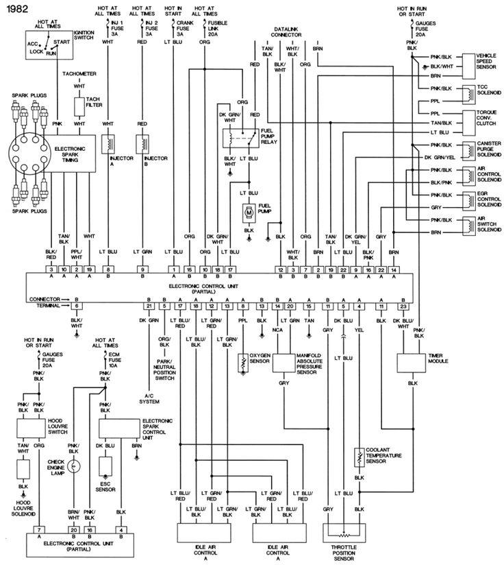82Crossfirethrottlebodyfuelinjection Diagram, Corvette