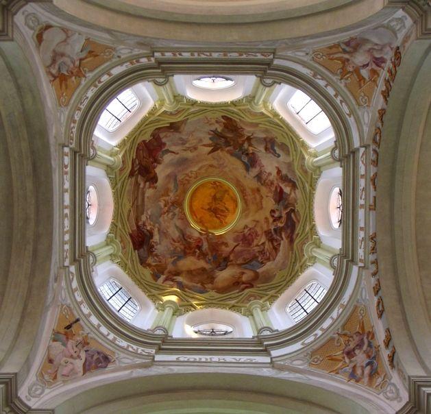 Jan Blažej Santini Aichel - The Vault at Kladruby monastery (West Bohemia), Czechia  #architecture #Czechia