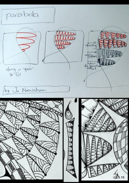 spectacular zentangle images - Google Search: Doodles Art, Doodles Drawings, Art Doodles, Tangled Patterns, Doodles Patterns, Parabola Zentangle, Zentangle Doodles, Zentangle Patterns, Zentangle Tutorials