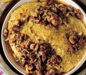Polenta taragna pasticciata e rostisciada
