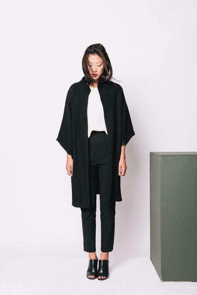 Elizabeth Suzann Cocoon Coat