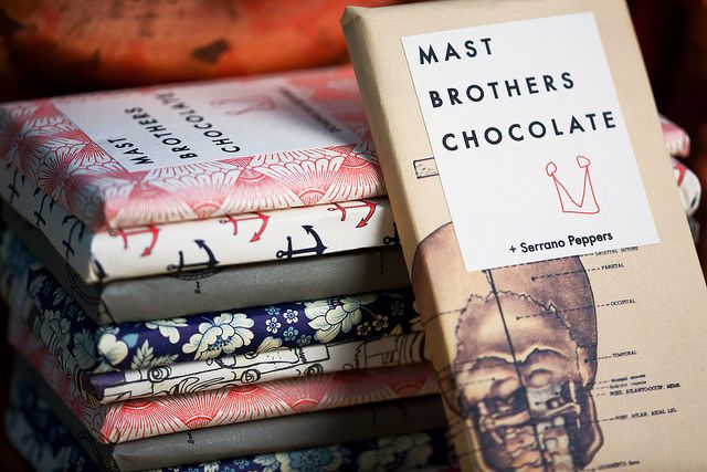 Mast Brothers Chocolate by Nathan Branch, via Flickr