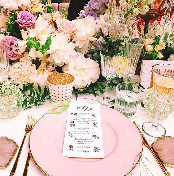 Ονειρικός γάμος fashion blogger στην Ιταλία -Απόλυτη χλιδή παντού, τρία νυφικά και ένα δωμάτιο μόνο με γλυκά [εικόνες] | iefimerida.gr