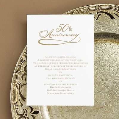 The 25+ best 50th anniversary invitations ideas on Pinterest ...