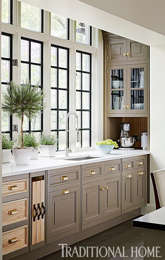 Our Most Popular Kitchens Traditional Kitchen Design Taupe Kitchen Cabinets Interior Design Kitchen Most popular kitchen room decoration