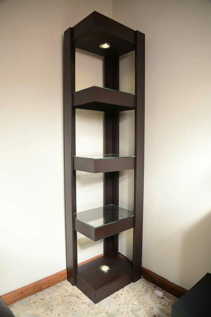 Las 25 mejores ideas sobre esquineros de madera en for Mueble de 5 repisas