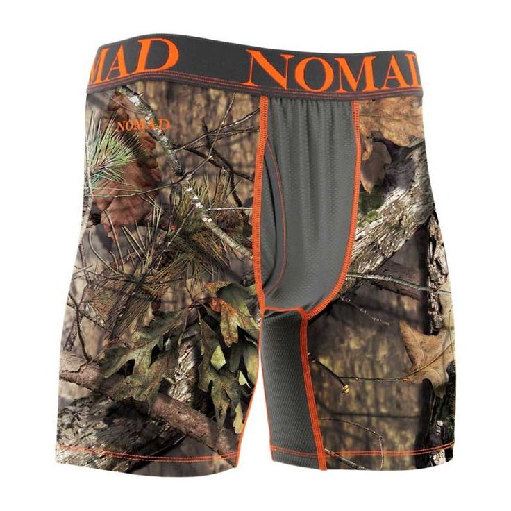 Nomad Men's Boxer Jock Boxer Briefs, Size: Medium, Mossy Oak Brk-Up Country