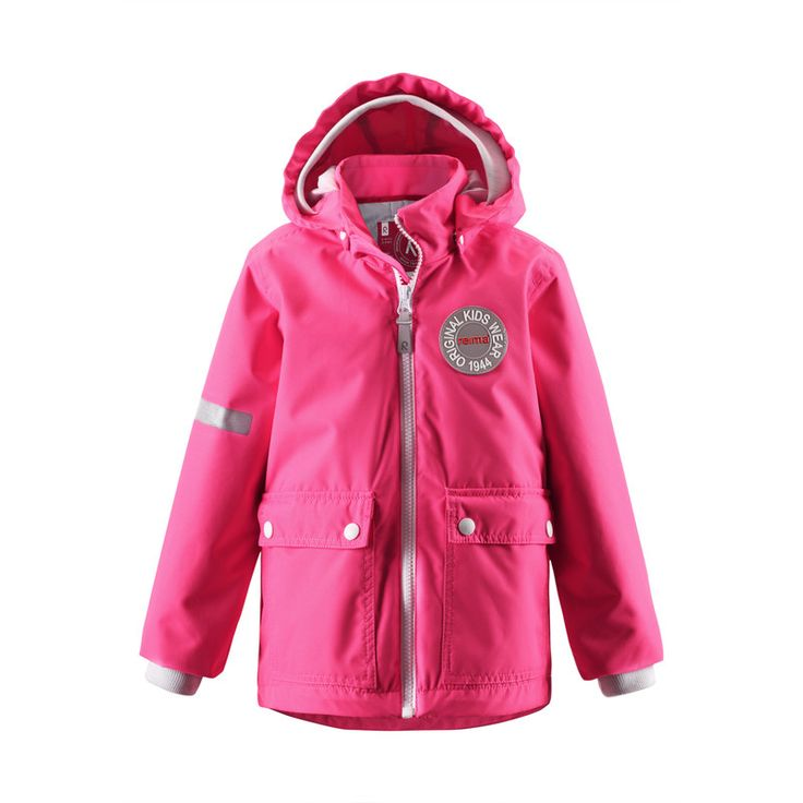 How do you like this raspberry pink version of Taag? #ss16 #reima #kidswear #outdoors