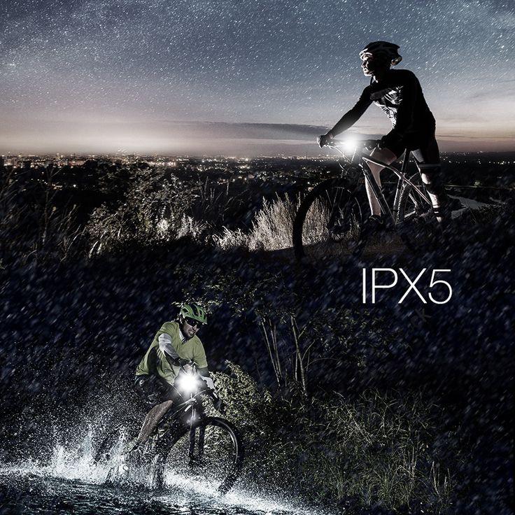 XANES SFL-01 600LM XPG + 2 LED Bicycle German Standard Smart Sensor Warning Light Waterproof Bike Front Light Headlightt Flashlight 5 Modes USB Charging Night Riding  #sports #outdoor #cycling