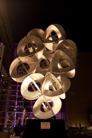 Hyatt Regency Greenville-NOMA Sculpture at Night http://www.greenville.hyatt.com/en/hotel/home.html