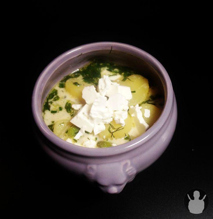 Zupa z bobem i koperkiem   MR. CHEF - COOK'S BLOG