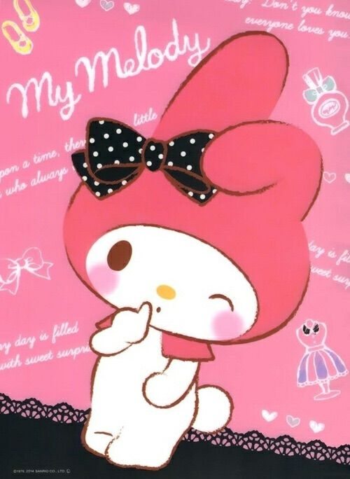 Image via We Heart It https://weheartit.com/entry/143179591/via/16749372 #mymelody #sanrio