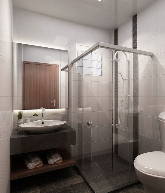 Sliding Shower Screen Veneer Door Hdb Bathroom Green Interior DesignInterior Design SingaporeToilet