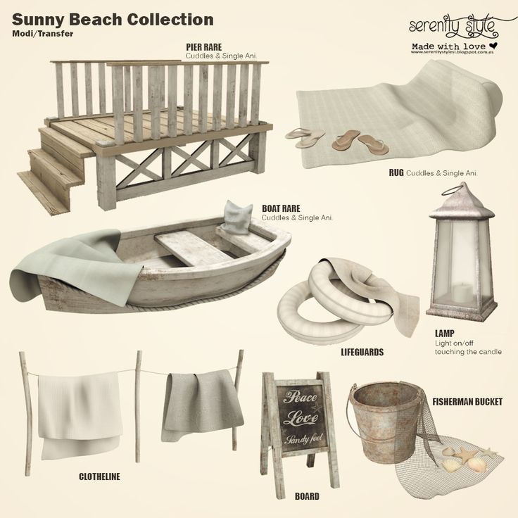 https://flic.kr/p/SdJAYz | Serenity Style- Sunny Beach Gacha | New exclusive for The Crossroads  From 3 April