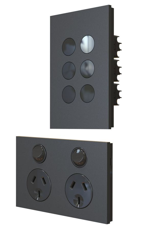 wall switches power outlets data outlets usb chargers fan controllers dimmers or cooker. Black Bedroom Furniture Sets. Home Design Ideas