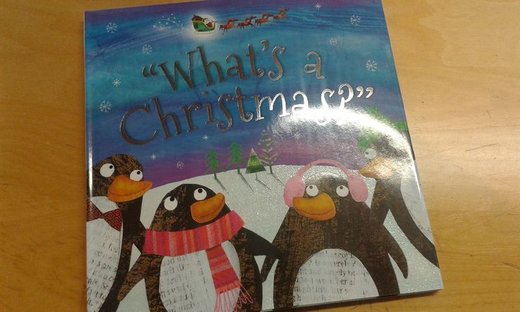 """What's a Christmas?""  One Christmas Eve, four little penguins make a surprising discovery: an elf that has fallen out of Santa's sleigh! But even more surprising is that the penguins have never heard of elves, sleighs or Santa – and they have never celebrated Christmas!"