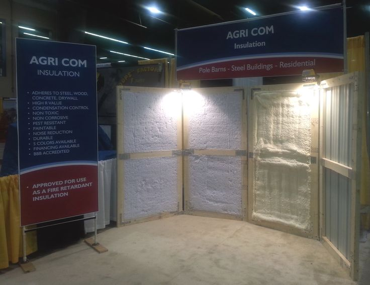 18 best shop insulation images on pinterest pole barn for Alternatives to spray foam insulation