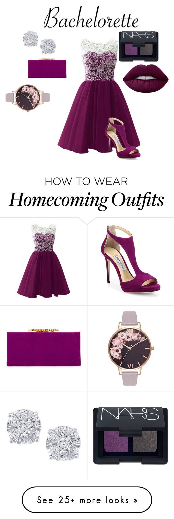 """purple dress 