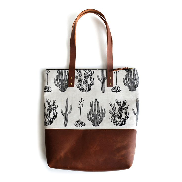 The Urban Jungle Bloggers tote! Amelie Mancini Cactus Carry All Tote Bag | The Future Kept
