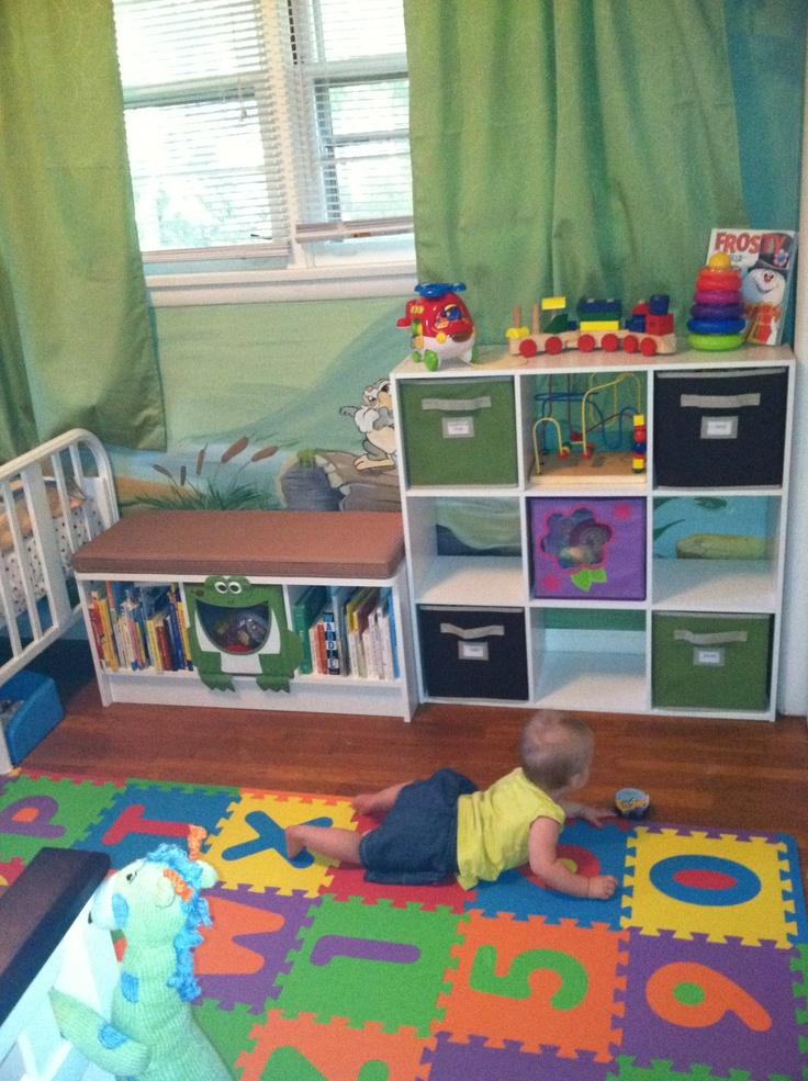 Kids bedroom toy and book storage ideas aad organize Kids storage ideas