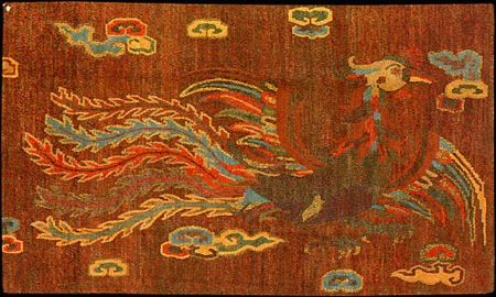 phoenix, animal rug 9 - 12 Wacky Animal Rugs and Critter Carpets