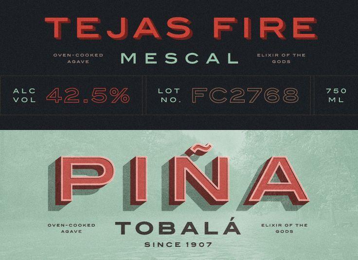 #typography mescal