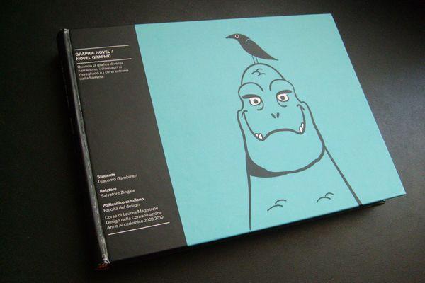 Graphic novel / Novel graphic by Giacomo Gambineri, via Behance