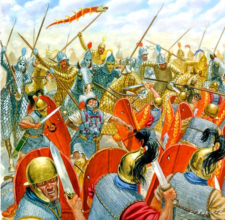 The Battle of Carrhae