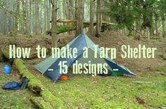 Prepper's Will - How To Make A Tarp Shelter